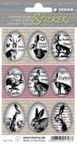 Herma 1723 Sticker Happy Easter Eierhasen - 9 Stück Osteretiketten Happy Easter Eierhasen Papier