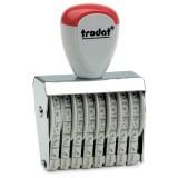 trodat® Classic 1548 Ziffernstempel 8-stellig Ziffernbandstempel für Stempelkissen 8 4 mm