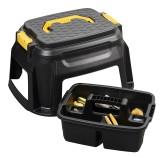 CEP Werkzeughocker HW 125 schwarz/gelb schwarz/gelb 50 cm 33 cm 60 cm bis 260 kg