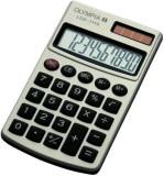 Olympia Taschenrechner - Solar-/Batteriebetrieb, 10-stellig, silber/schwarz silber/schwarz LCD