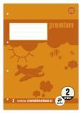 Staufen® Arbeitsblätterblock PREMIUM LIN 2 - A4, 80 g/qm, 50 Blatt, beidseitig mit Rahmen A4