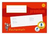 Staufen® Rechenheft PREMIUM LIN R - A5 quer, 90 g/qm, 16 Blatt, kariert R: 10 x 10 mm kariert