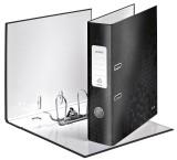 Leitz 1005 Qualitäts-Ordner WOW, mit Schlitzen, A4, breit, schwarz A4 80 mm schwarz PP