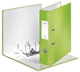 Leitz 1005 Qualitäts-Ordner WOW, mit Schlitzen, A4, breit, grün A4 80 mm grün PP