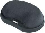 Hama® Mini-Handgelenkauflage Pro - anthrazit anthrazit Memory-Schaumfüllung 105 mm 25 mm 75 mm