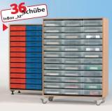 InBox Eigentumsschrank 36 Schübe M